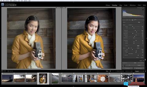 Skærmbillede Adobe Photoshop Lightroom Windows 8.1