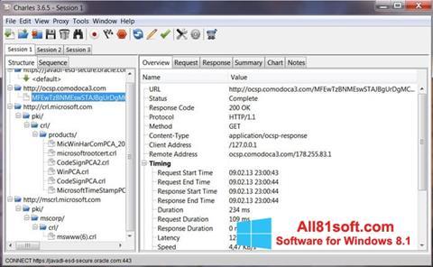 Skærmbillede Charles Windows 8.1