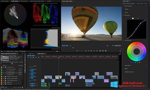 Skærmbillede Adobe Premiere Pro Windows 8.1