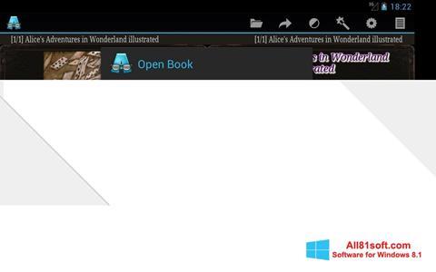 Skærmbillede AlReader Windows 8.1
