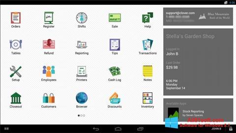 Skærmbillede Clover Windows 8.1