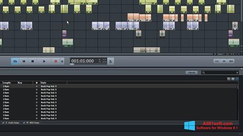 Skærmbillede MAGIX Music Maker Windows 8.1