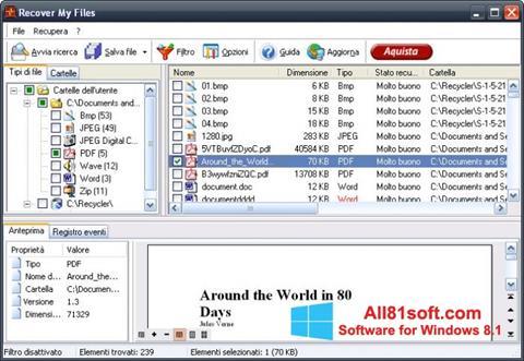 Skærmbillede Recover My Files Windows 8.1