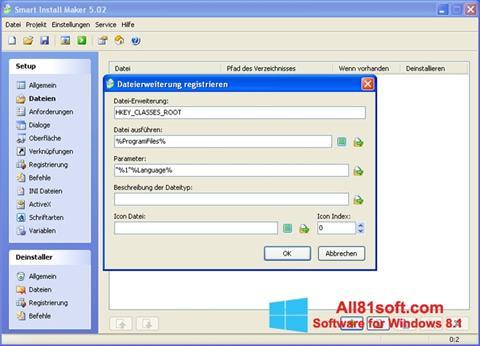 Skærmbillede Smart Install Maker Windows 8.1