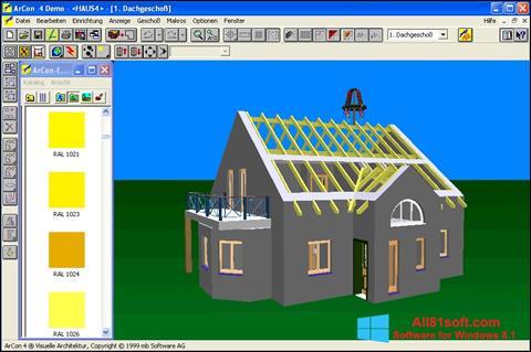 Skærmbillede Arcon Windows 8.1