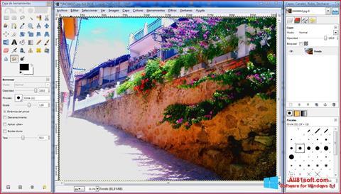 Skærmbillede GIMP Windows 8.1