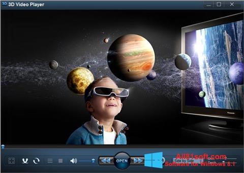 Skærmbillede 3D Video Player Windows 8.1
