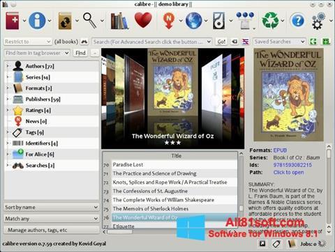 Skærmbillede Calibre Windows 8.1