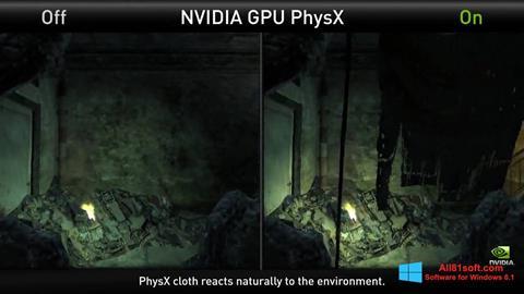Skærmbillede NVIDIA PhysX Windows 8.1