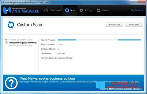 Skærmbillede Malwarebytes Anti-Malware Windows 8.1