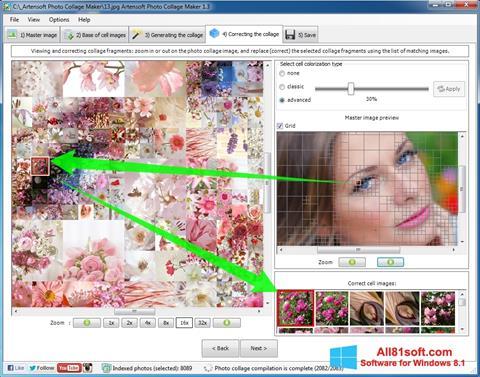 Skærmbillede Photo Collage Windows 8.1