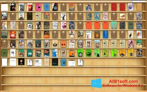 Skærmbillede Bookshelf Windows 8.1