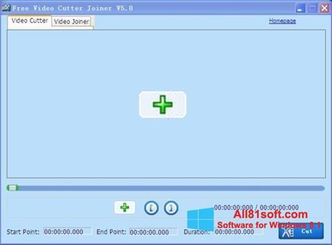 Skærmbillede Free Video Cutter Windows 8.1