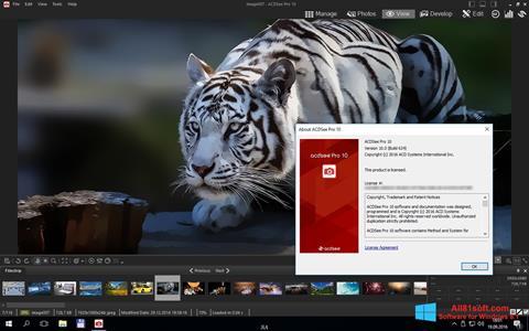 Skærmbillede ACDSee Pro Windows 8.1