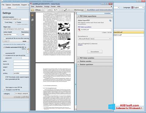 Skærmbillede Scan2PDF Windows 8.1