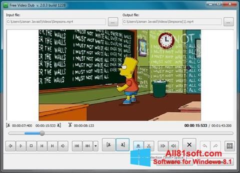 Skærmbillede Free Video Dub Windows 8.1