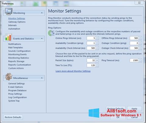 Skærmbillede QIP Windows 8.1