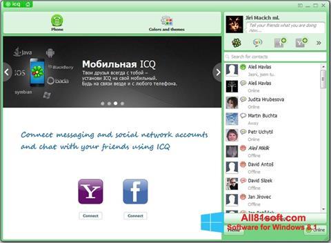 Skærmbillede ICQ Windows 8.1