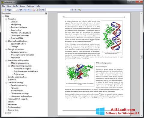 Skærmbillede Sumatra PDF Windows 8.1