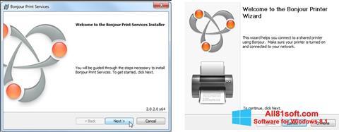 Skærmbillede Bonjour Windows 8.1
