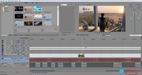 Skærmbillede Sony Vegas Pro Windows 8.1