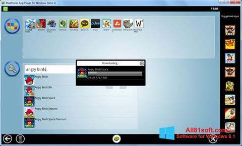 Skærmbillede BlueStacks Windows 8.1