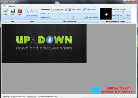 Skærmbillede SmartDeblur Windows 8.1