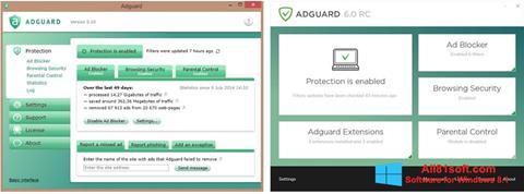 Skærmbillede Adguard Windows 8.1