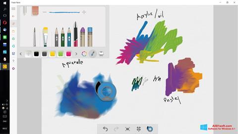 Skærmbillede Fresh Paint Windows 8.1