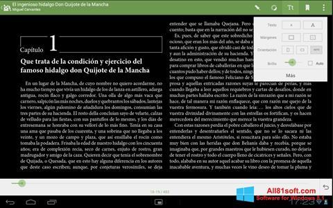 Skærmbillede BookReader Windows 8.1