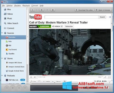 Skærmbillede Miro Windows 8.1