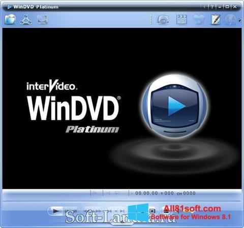 Skærmbillede WinDVD Windows 8.1