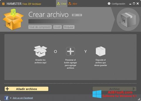 Skærmbillede Hamster Free ZIP Archiver Windows 8.1