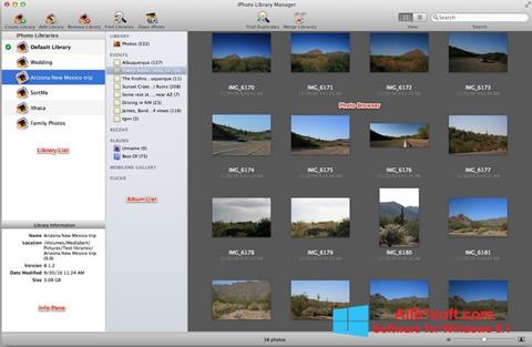 Skærmbillede iPhoto Windows 8.1