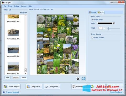 Skærmbillede CollageIt Windows 8.1