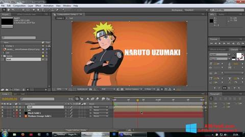 Skærmbillede Adobe After Effects Windows 8.1