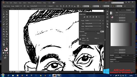 Skærmbillede Adobe Illustrator CC Windows 8.1