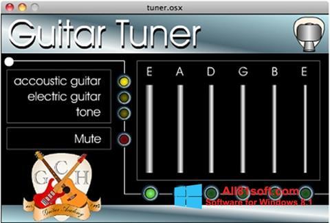 Skærmbillede Guitar Tuner Windows 8.1