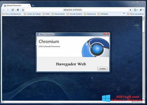 Skærmbillede Chromium Windows 8.1