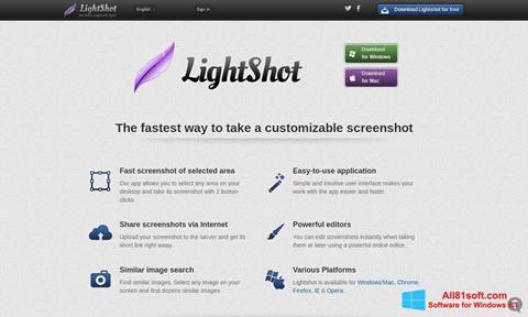 Skærmbillede LightShot Windows 8.1