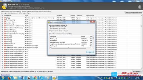 Skærmbillede Recuva Windows 8.1