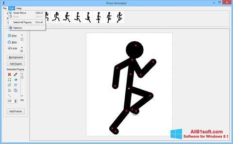 Skærmbillede Pivot Animator Windows 8.1