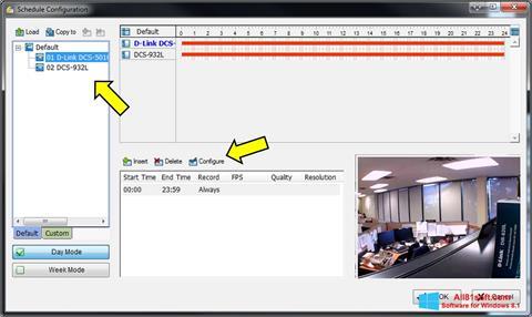 Skærmbillede D-ViewCam Windows 8.1