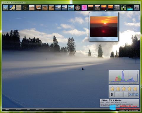 Skærmbillede FastPictureViewer Windows 8.1