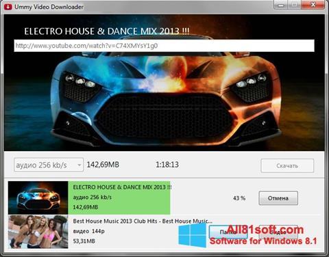 Skærmbillede Ummy Video Downloader Windows 8.1