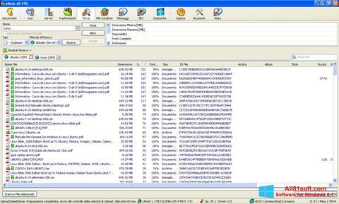 Skærmbillede eMule Windows 8.1