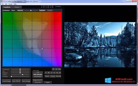 Skærmbillede 3D LUT Creator Windows 8.1