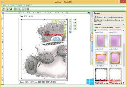Skærmbillede PhotoMix Collage Windows 8.1