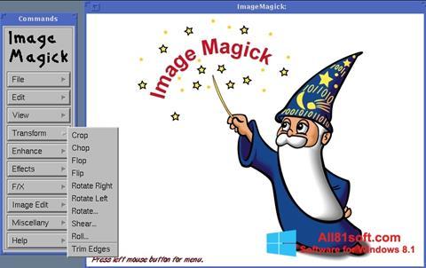 Skærmbillede ImageMagick Windows 8.1