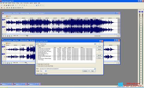 Skærmbillede Sound Forge Windows 8.1